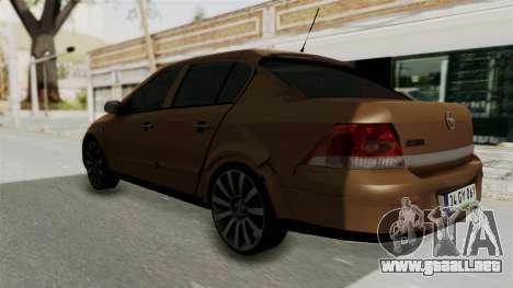 Opel Astra Sedan 2011 para GTA San Andreas left