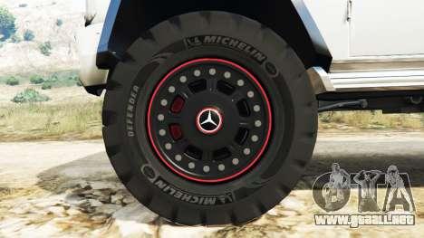 GTA 5 Mercedes-Benz G65 AMG 6x6 volante