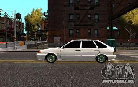 VAZ 2114 Brodyaga para GTA 4 left