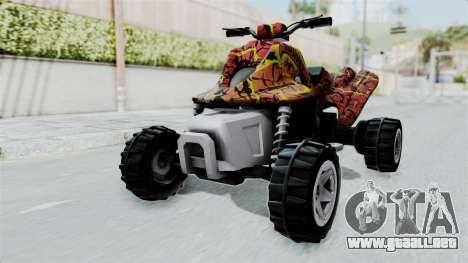 Sand Stinger from Hot Wheels v2 para la visión correcta GTA San Andreas
