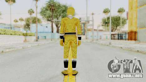 Alien Rangers - Yellow para GTA San Andreas tercera pantalla