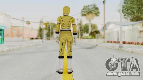 Power Rangers Turbo - Yellow para GTA San Andreas tercera pantalla