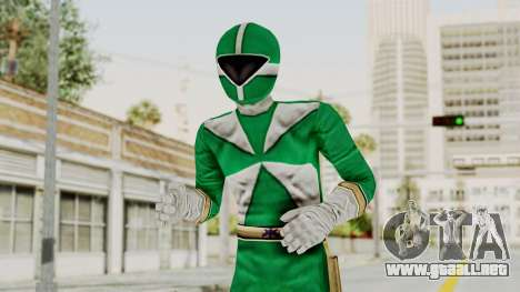 Power Rangers Lightspeed Rescue - Green para GTA San Andreas