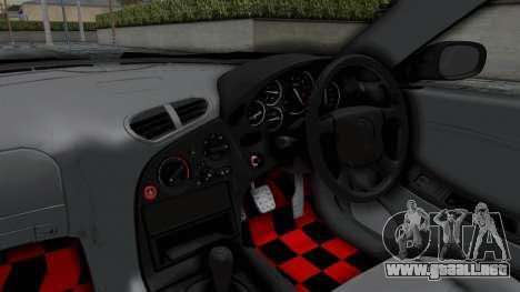 Mazda RX-7 FD3S HellaFlush para visión interna GTA San Andreas
