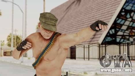 MGSV Phantom Pain Rogue Coyote Soldier Naked v1 para GTA San Andreas