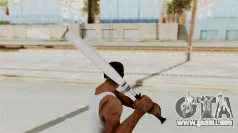 Metal Slug Weapon 3 para GTA San Andreas tercera pantalla