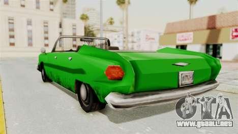 Glendale XS para GTA San Andreas left