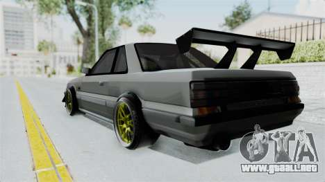 Nissan Skyline R31 para GTA San Andreas left