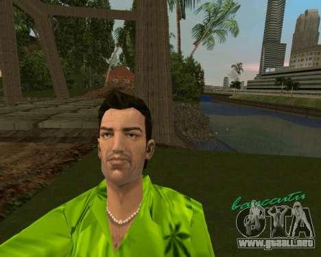 Weed T-Shirt para GTA Vice City segunda pantalla