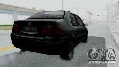 Fiat Albea para GTA San Andreas left