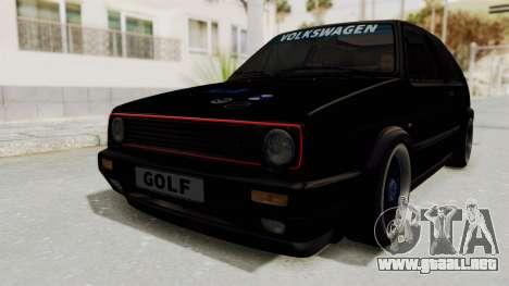 Volkswagen Golf 2 GTI para GTA San Andreas