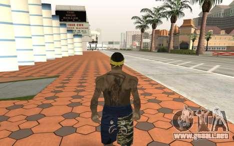 Los Santos Vagos Gang Member para GTA San Andreas segunda pantalla