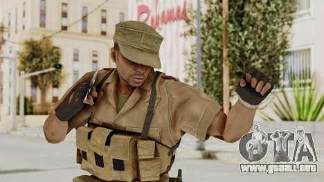 MGSV Phantom Pain CFA Combat Vest 1 v1 para GTA San Andreas
