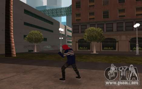 Sin hogar v3 para GTA San Andreas tercera pantalla
