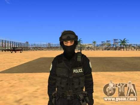 Skin SWAT HD para GTA San Andreas