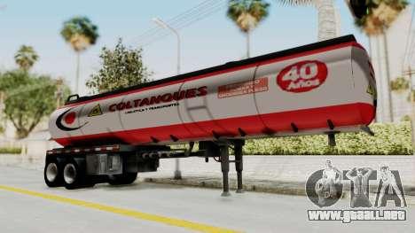 Trailer de Conbustible para GTA San Andreas