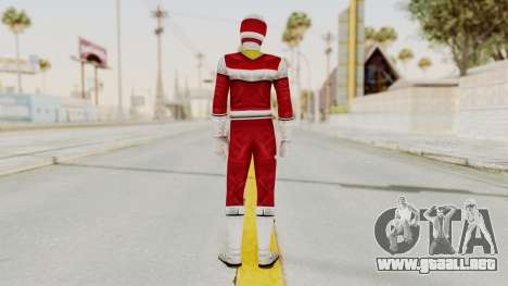 Power Rangers In Space - Red para GTA San Andreas tercera pantalla