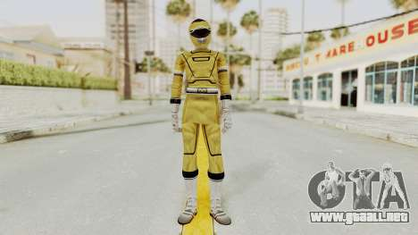 Power Rangers Turbo - Yellow para GTA San Andreas segunda pantalla