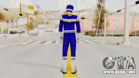 Power Rangers In Space - Blue para GTA San Andreas tercera pantalla