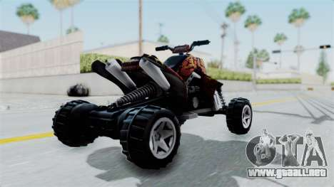 Sand Stinger from Hot Wheels v2 para GTA San Andreas left
