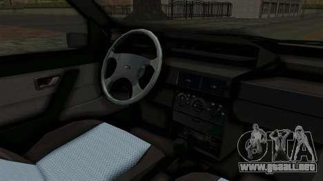 Fiat Tempra para visión interna GTA San Andreas