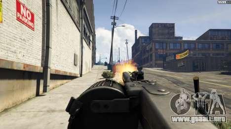 GTA 5 MG-42 sexta captura de pantalla