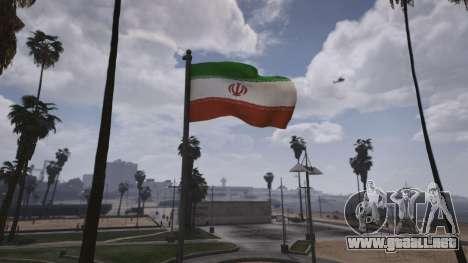 Iranian Flag para GTA 5