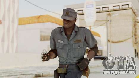 MGSV Phantom Pain Zero Risk Security Combat v1 para GTA San Andreas