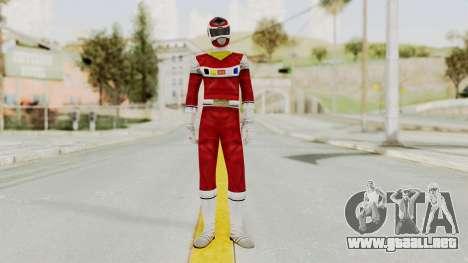 Power Rangers In Space - Red para GTA San Andreas segunda pantalla