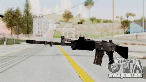 IOFB INSAS Plastic Black Skin para GTA San Andreas