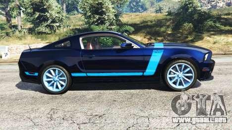 GTA 5 Ford Mustang Boss 302 2013 vista lateral izquierda
