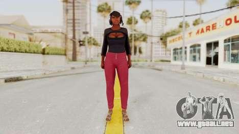 GTA 5 Hooker para GTA San Andreas segunda pantalla