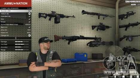GTA 5 MG-42 segunda captura de pantalla