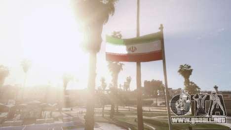 GTA 5 Iranian Flag tercera captura de pantalla