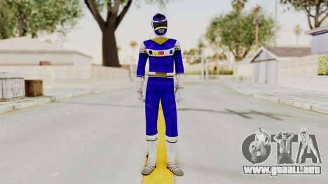 Power Rangers In Space - Blue para GTA San Andreas segunda pantalla