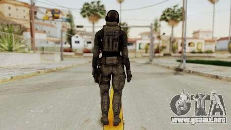 Phantomers Linda Sashantti Soldier para GTA San Andreas tercera pantalla