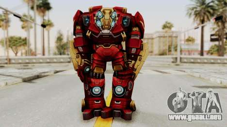 Marvel Future Fight - Hulkbuster para GTA San Andreas tercera pantalla