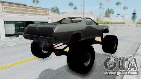 Chevrolet El Camino 1973 Monster Truck para GTA San Andreas left