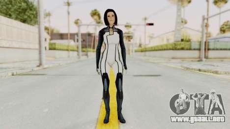 Mass Effect 3 Dr. Eva New Short Hair para GTA San Andreas segunda pantalla