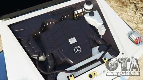 GTA 5 Mercedes-Benz G65 AMG 6x6 delantero derecho vista lateral