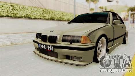 BMW 320CI E36 para GTA San Andreas vista posterior izquierda