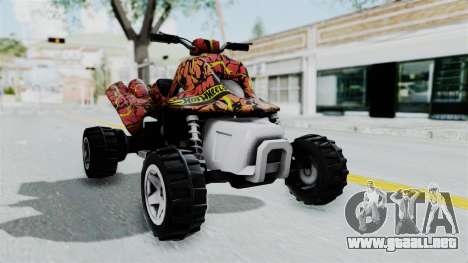 Sand Stinger from Hot Wheels v2 para GTA San Andreas