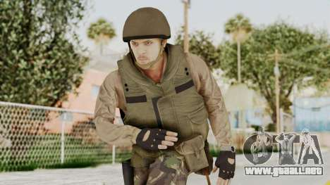 MGSV Phantom Pain RC Soldier Vest v1 para GTA San Andreas