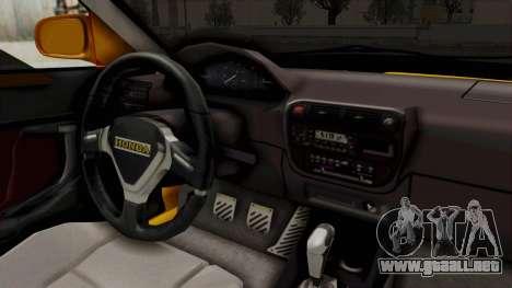 Honda Civic Vermidon para visión interna GTA San Andreas