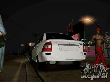 Lada Priora BPAN para GTA San Andreas left