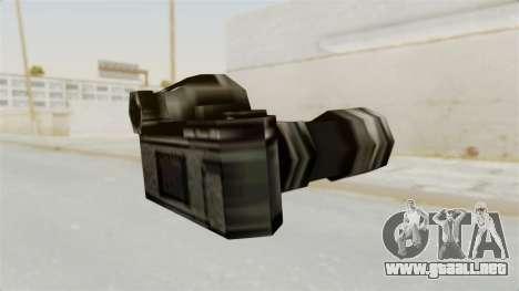 Metal Slug Weapon 6 para GTA San Andreas segunda pantalla
