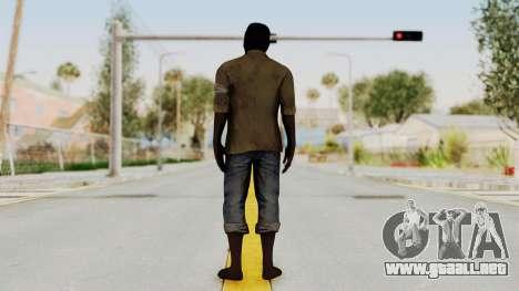 Far Cry 3 - Dennis Rogers para GTA San Andreas tercera pantalla
