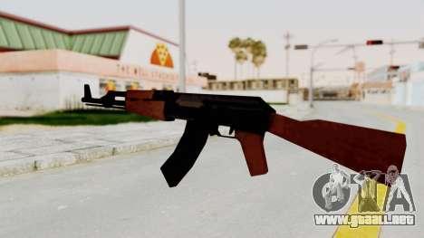 Liberty City Stories AK-47 para GTA San Andreas tercera pantalla