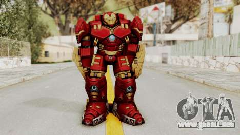 Marvel Future Fight - Hulkbuster para GTA San Andreas segunda pantalla