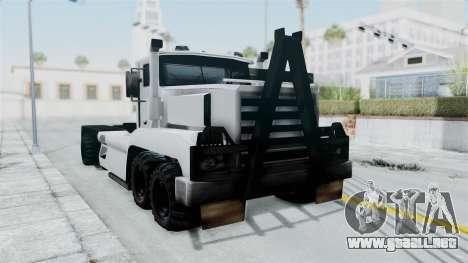 Roadtrain 8x8 v1 para la visión correcta GTA San Andreas